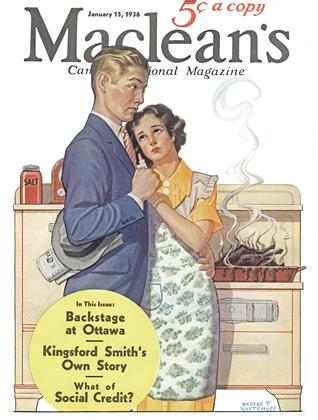 Cover for the January 15 1936 issue