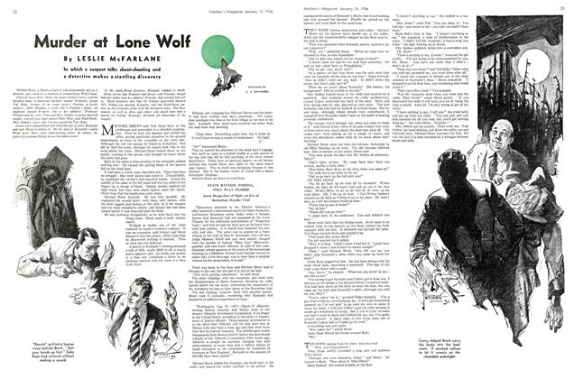Murder at Lone Wolf