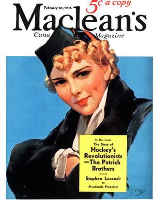 FEBRUARY 1, 1936 | Maclean's