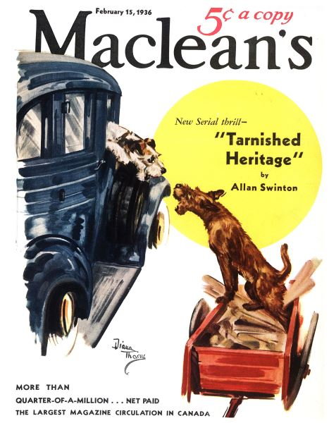 Issue: - February 15,1936 | Maclean's