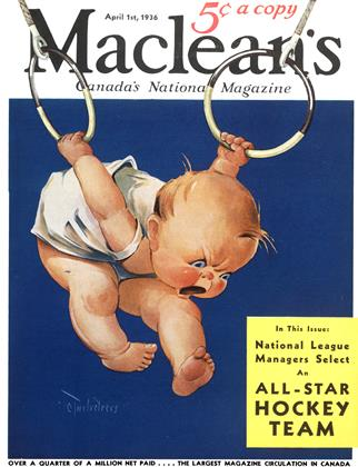 Cover for the April 1 1936 issue