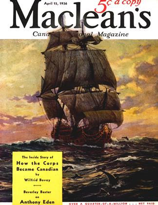 Cover for the April 15 1936 issue
