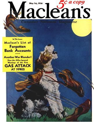 Cover for the May 1 1936 issue