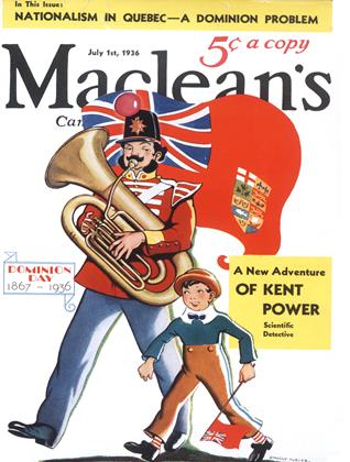 Cover for the July 1 1936 issue