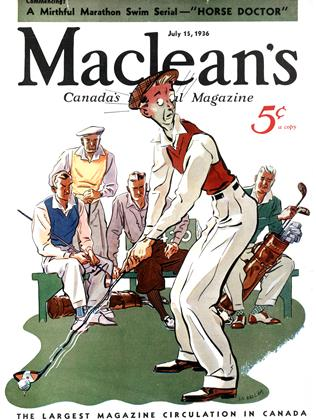 Cover for the July 15 1936 issue