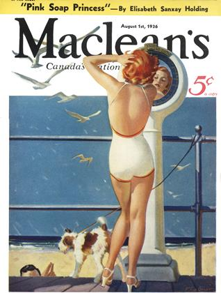 Cover for the August 1 1936 issue