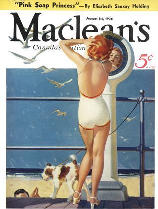 August 1st, 1936 | Maclean's