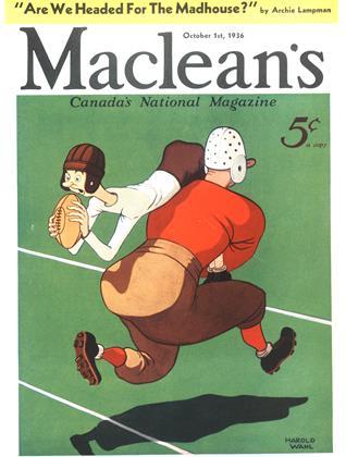 OCTOBER 1, 1936 | Maclean's