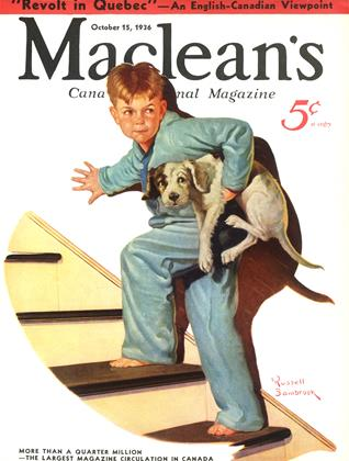 Cover for the October 15 1936 issue