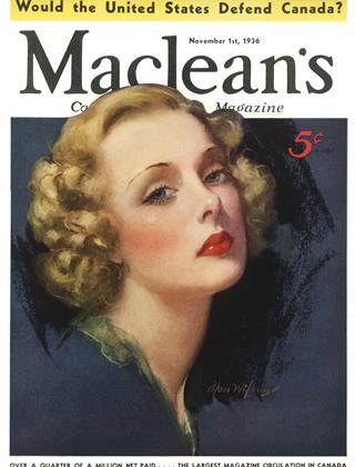 November 1st, 1936 | Maclean's