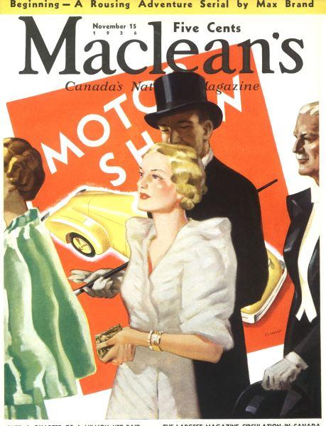 Issue: - November 1936 | Maclean's