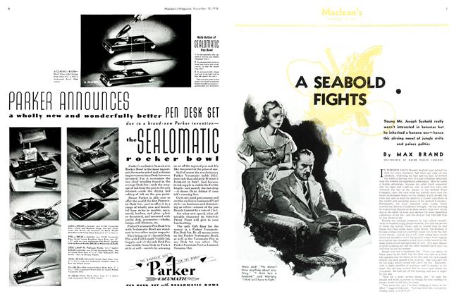A SEABOLD FIGHTS