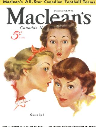 Cover for the December 1 1936 issue