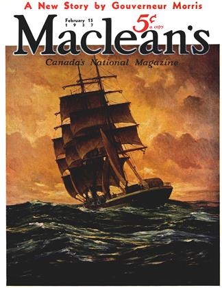 Cover for the February 15 1937 issue