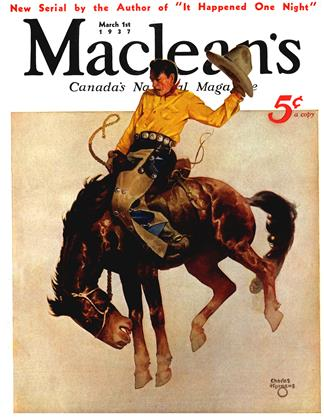 March 1st 1937 | Maclean's