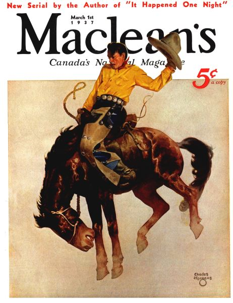 Issue: - March 1st 1937 | Maclean's