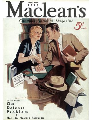 Cover for the April 15 1937 issue