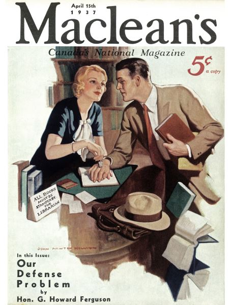 Issue: - APRIL 15th 1937 | Maclean's