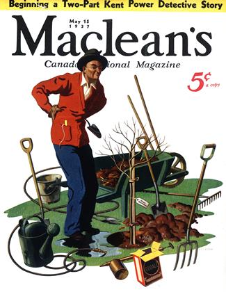 Cover for the May 15 1937 issue