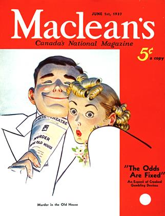Cover for the June 1 1937 issue