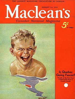 AUGUST 1st, 1937 | Maclean's