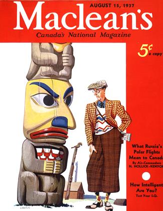 Cover for the August 15 1937 issue