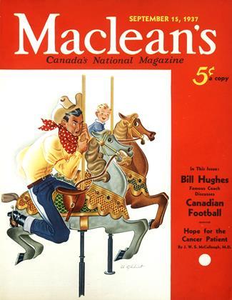SEPTEMBER 15, 1937 | Maclean's