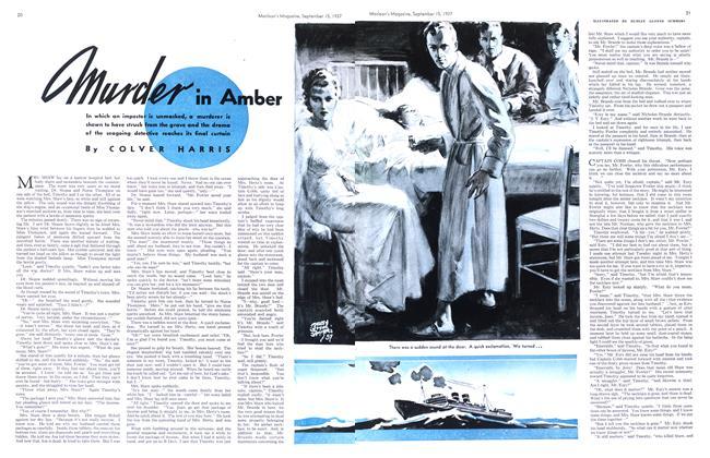 murder in Amber