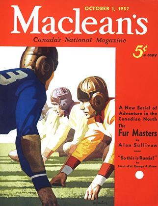 OCTOBER 1, 1937 | Maclean's