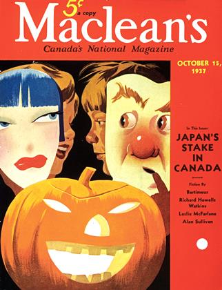 Cover for the October 15 1937 issue