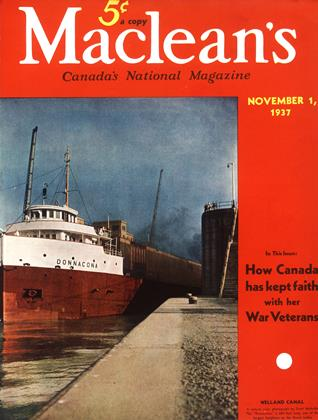 Cover for the November 1 1937 issue