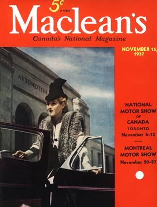 Cover for the November 15 1937 issue