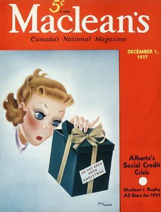 DECEMBER 1, 1937 | Maclean's