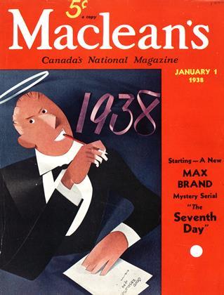 JANUARY 1 1938 | Maclean's