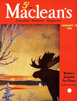 Cover for the January 15 1938 issue