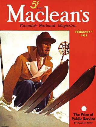 FEBRUARY 1 1938 | Maclean's