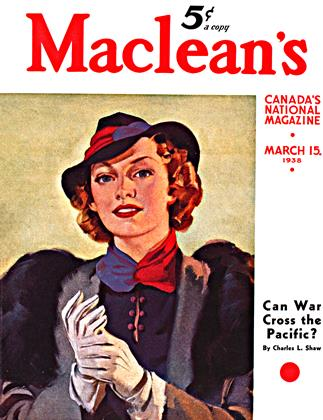 Cover for the March 15 1938 issue