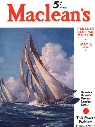 Cover for the May 1 1938 issue