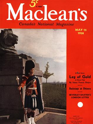 Cover for the May 15 1938 issue