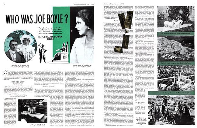 WHO WAS JOE BOYLE? | Maclean's | JUNE 1, 1938