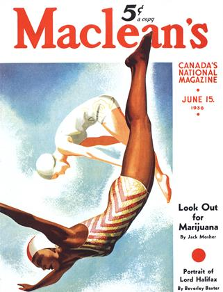 Cover for the June 15 1938 issue