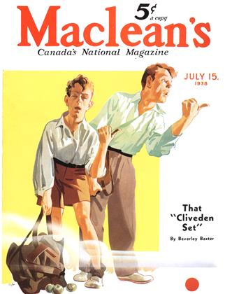 Cover for the July 15 1938 issue