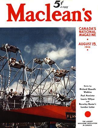 AUGUST 15, 1938 | Maclean's