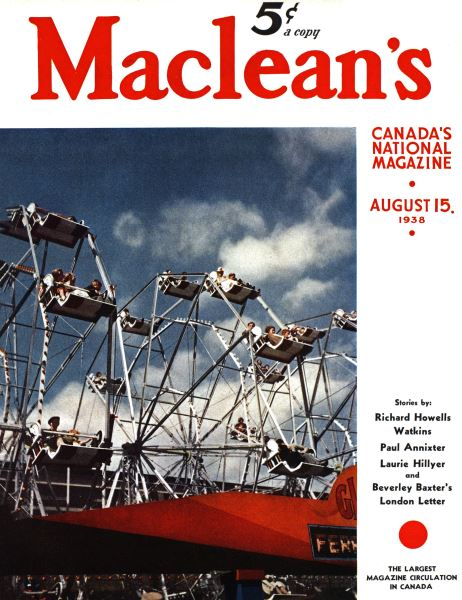 Issue: - August 1938 | Maclean's