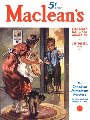 Cover for the September 1 1938 issue