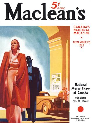 Cover for the November 15 1938 issue