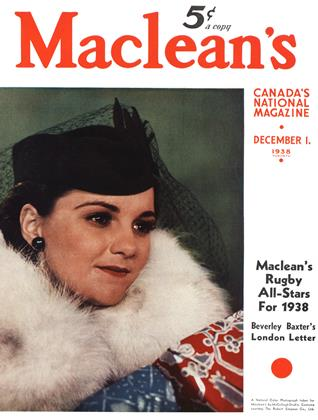 Cover for the December 1 1938 issue