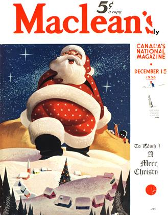 Cover for the December 15 1938 issue