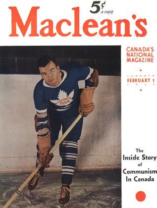FEBRUARY 1 1939 | Maclean's