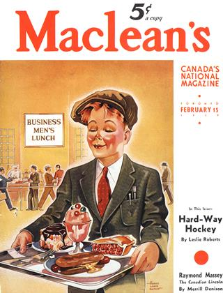 Cover for the February 15 1939 issue